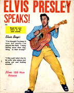ELVIS PRESLEY SPEAKS